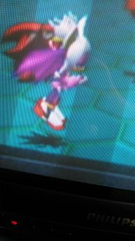 A glitch in Sonic Heroes... by XBlack-KittyX