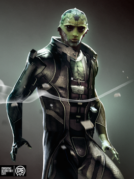 Thane Krios by MadSpike