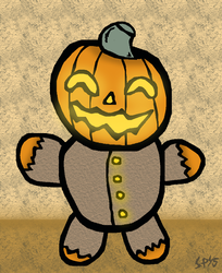 Pumpkin boi by SpookyMuffin4545