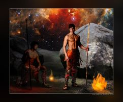 Cain and Abel by AVAdesign