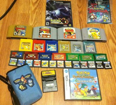 My Pokemon Game Collection [UPDATED] by Furugaki