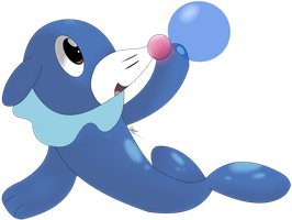 Popplio Vector by Flamelight-Dash
