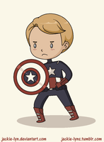 Captain American by Jackie-lyn