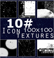 10 Black icon  textures by SunnyGirl33