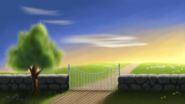 Open the gate by ame-natsuno