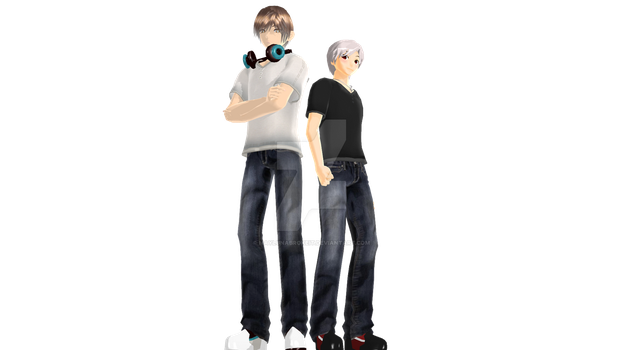 MMD Profiles: Shinor and Acteaon by MaylunaBrokeit