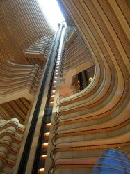 Marriott Marquis Atrium by conbot
