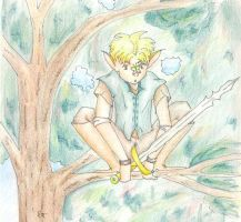 Deamon and the Butterfly by Nivaeus