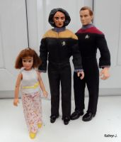 B'Elanna with Tom and Miral by BarbaraPommerenke