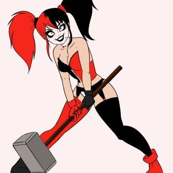 Harley - WIP Gods and Monsters Fan-Art by Lx8-2