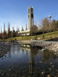 BYU Bell Tower by tadamson