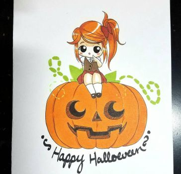 Happy Halloween by Pinny