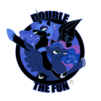Double the Fun by LadyDuskfall