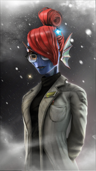 Dr.Undyne by LD010409
