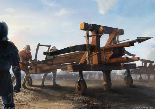Giant crossbow by moonxels