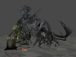Xenomorphs (From ACM) for XPS/XNA by Jorn-K-Nightmane
