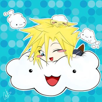 Cloud and his clouds by 4nto