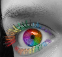 Rainbow Eye by Graciebug