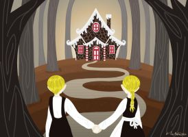 Hansel and Gretel by Schlissel-art