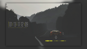 Long Way (Rainmeter)  by HipHopium