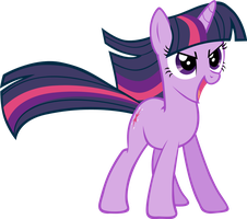 Twilight Sparkle by elegantmisreader