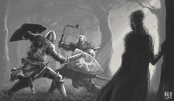 Forest Duel by NeilBlade