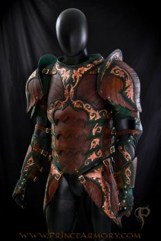 Warrior Rogue Leather Armor by Azmal
