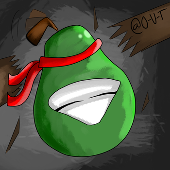 The Fighting Pear! by O-U-T