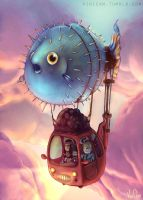 Puffer-mobile by Vinicam
