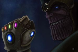 Thanos by EdArtGaming