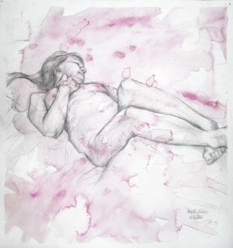 Figure in Pink by Schlady