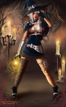 Halloween Witch ... by torivan6