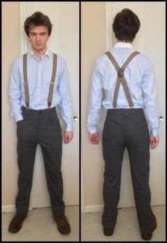 Peaky Blinders Tommy Shelby cosplay suit pants by TimeyWimey-007