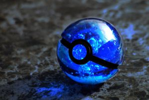 Watertype Pokeball by wazzy88