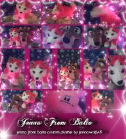 Jenna from Balto Custom Plushie ( not for sale) by AgentWhiteHawk