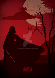 Vader - Star Wars Poster by MauroTch