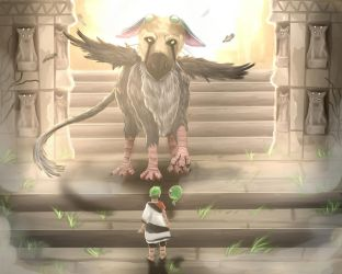 Jacksepticeye - The Last Guardian by ZToriko