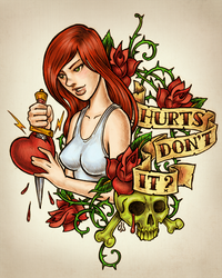 Hurts Don't It? by dpdagger