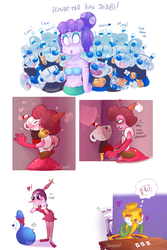 Favorite Cuphead Ships  by KarlaDraws14
