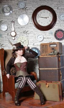 steampunk stock part 2 by vampurity-stock
