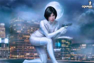Ghost In The Shell cosplay with Zoey by cosplayerotica