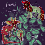 (Closed) Lepanthes calodictyon maskbeasts by The-Monster-Shop