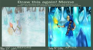 Draw This Again ~ Ice by Fantasylover64