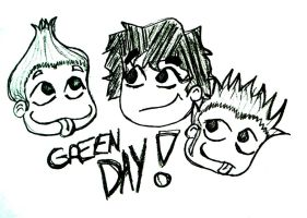 Green Day doodle by MusicalFire