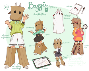 DAINTY GROUP NPC - BAGGIE by Meirii
