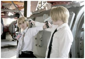USUK cosplay1 by dark1110