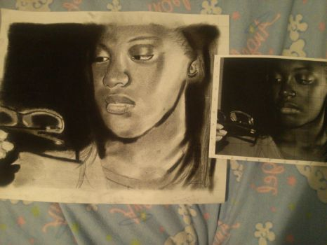 Charcoal Project Finished by AJInu-Okami