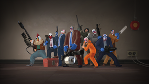 Payday Fortress by HTML-Earth