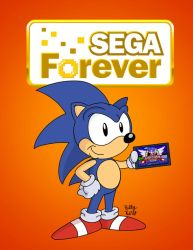 Sonic Forever by SlySonic