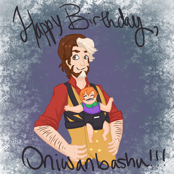 Oniwanbashu's Birthday by quesarahsara